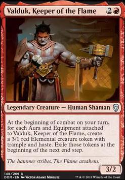 Dominaria: Valduk, Keeper of the Flame