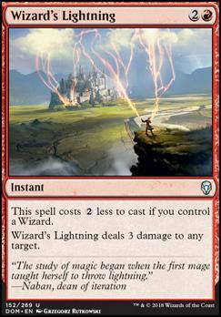 Dominaria: Wizard's Lightning