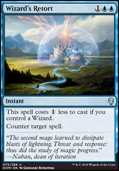 Dominaria Foil: Wizard's Retort