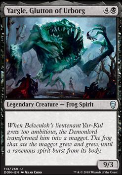 Dominaria: Yargle, Glutton of Urborg