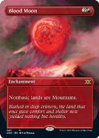 Double Masters Box Toppers Foil: Blood Moon