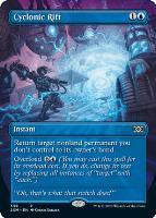 Double Masters Box Toppers Foil: Cyclonic Rift