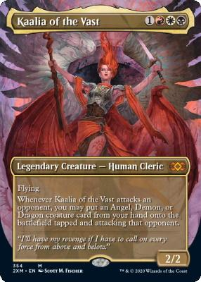 Double Masters Box Toppers: Kaalia of the Vast