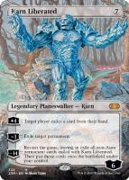 Double Masters Box Toppers Foil: Karn Liberated