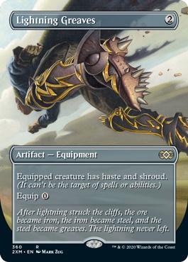 Double Masters Box Toppers: Lightning Greaves