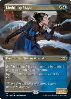 Double Masters Box Toppers: Meddling Mage
