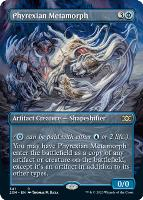 Double Masters Box Toppers Foil: Phyrexian Metamorph