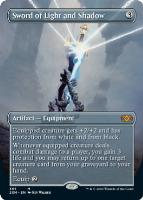 Double Masters Box Toppers Foil: Sword of Light and Shadow