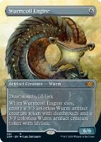 Double Masters Box Toppers Foil: Wurmcoil Engine