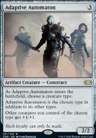 Double Masters Foil: Adaptive Automaton