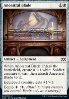 Double Masters: Ancestral Blade