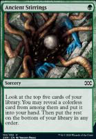 Double Masters Foil: Ancient Stirrings