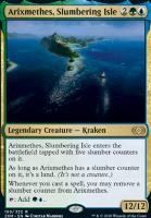 Double Masters Foil: Arixmethes, Slumbering Isle
