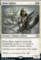 Double Masters Foil: Blade Splicer