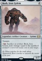 Double Masters Foil: Bosh, Iron Golem