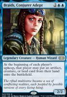Double Masters Foil: Braids, Conjurer Adept