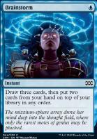 Double Masters Foil: Brainstorm