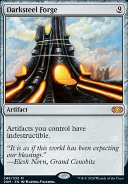 Double Masters Foil: Darksteel Forge