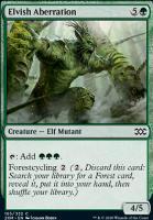 Double Masters: Elvish Aberration