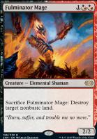 Double Masters Foil: Fulminator Mage