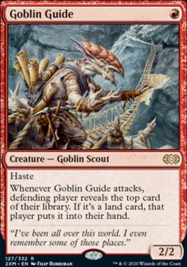 Double Masters Foil: Goblin Guide