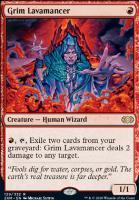 Double Masters Foil: Grim Lavamancer