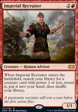 Double Masters: Imperial Recruiter