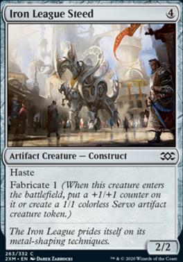 Double Masters: Iron League Steed