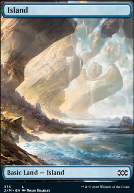 Double Masters: Island (376)