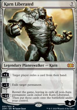 Double Masters: Karn Liberated