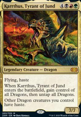 Double Masters: Karrthus, Tyrant of Jund