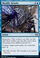 Double Masters Foil: Metallic Rebuke
