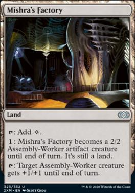 Double Masters: Mishra's Factory