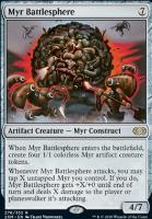 Double Masters Foil: Myr Battlesphere