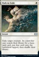 Double Masters Foil: Path to Exile