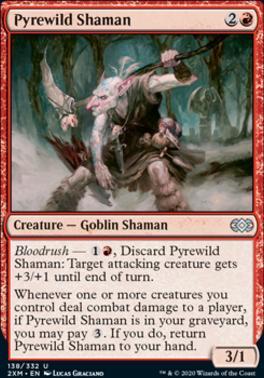 Double Masters: Pyrewild Shaman