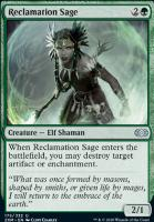 Double Masters: Reclamation Sage