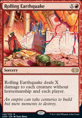 Double Masters: Rolling Earthquake