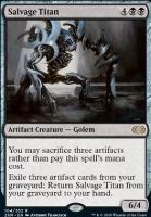 Double Masters: Salvage Titan