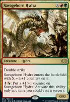 Double Masters Foil: Savageborn Hydra