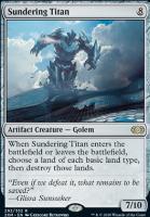 Double Masters: Sundering Titan