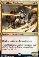 Double Masters Foil: Swiftblade Vindicator