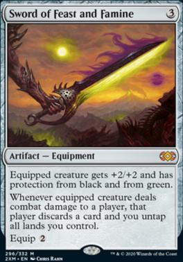 Double Masters Foil: Sword of Feast and Famine
