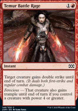 Double Masters: Temur Battle Rage