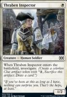 Double Masters Foil: Thraben Inspector