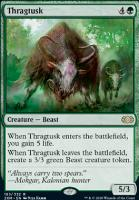 Double Masters Foil: Thragtusk