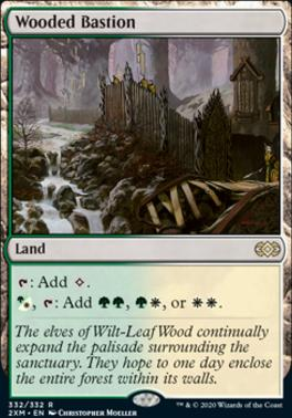 Double Masters Foil: Wooded Bastion