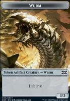 Double Masters Foil: Wurm Token (030)