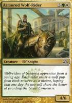 Dragon's Maze: Armored Wolf-Rider