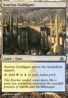Dragon's Maze Foil: Azorius Guildgate